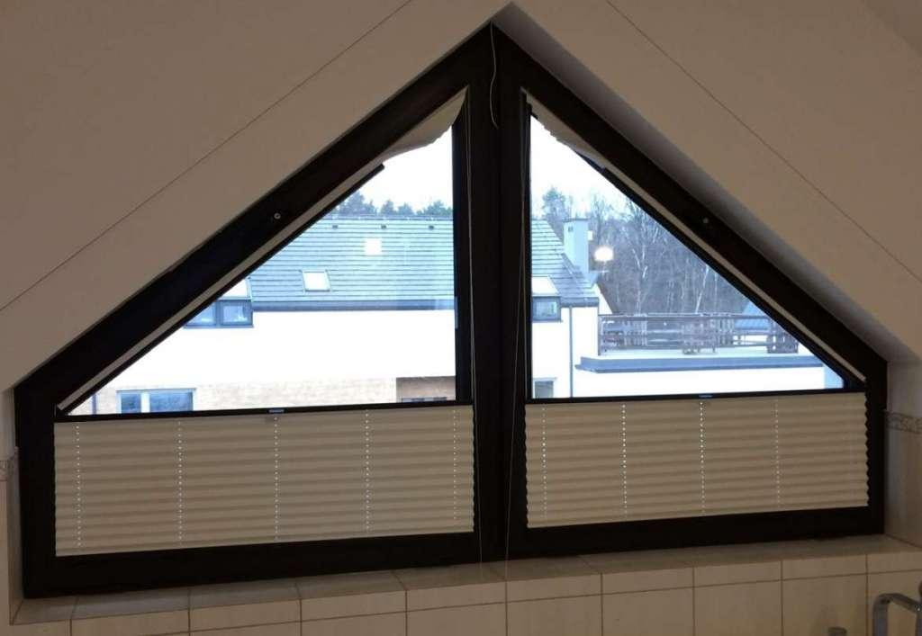 Odpowiednie plisy okienne do łazienki